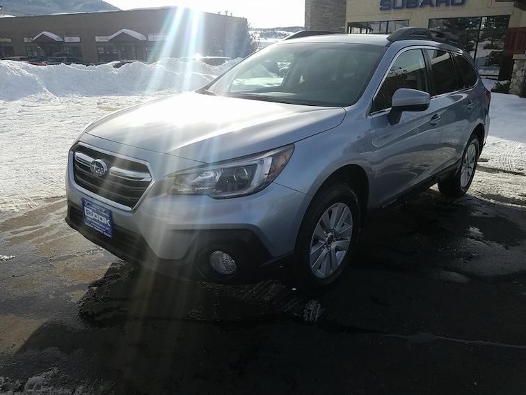 New 2019 Subaru Outback 2.5i Premium SUV Steamboat Springs, CO