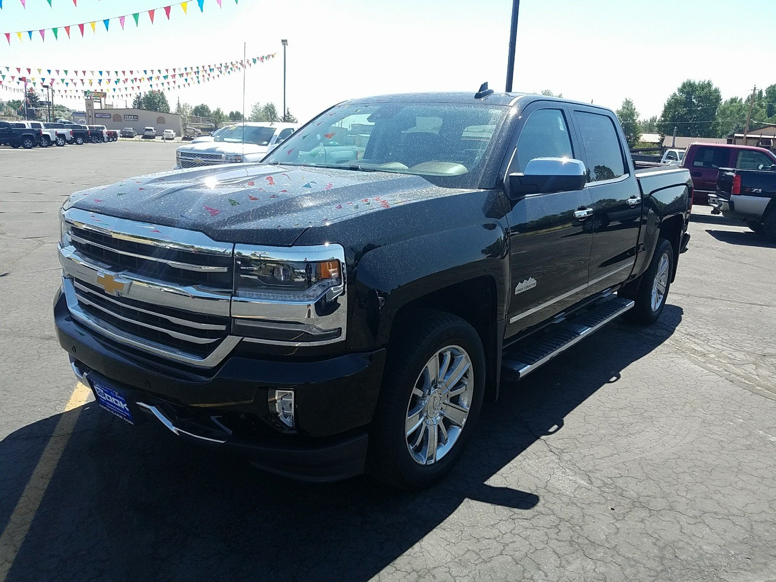 Used 2016 Chevrolet Silverado 1500 High Country 4WD Crew Cab 143.5 High  Country Steamboat Springs,
