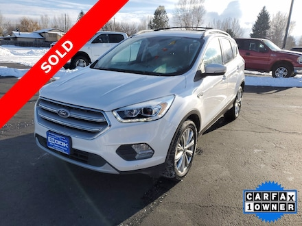 Featured Used 2018 Ford Escape Titanium SUV for Sale in Steamboat Springs, CO