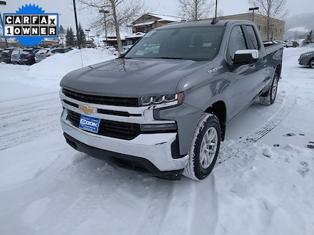 Featured Used 2020 Chevrolet Silverado 1500 LT Truck Double Cab for Sale in Steamboat Springs, CO
