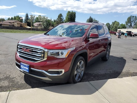 Featured Used 2017 GMC Acadia SLT SUV for Sale in Steamboat Springs, CO