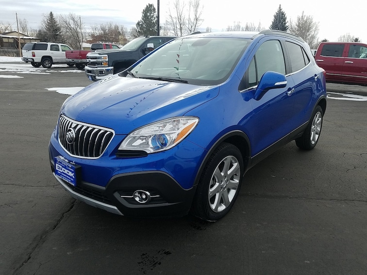 Used 2015 Buick Encore Leather AWD  Leather Steamboat Springs, CO