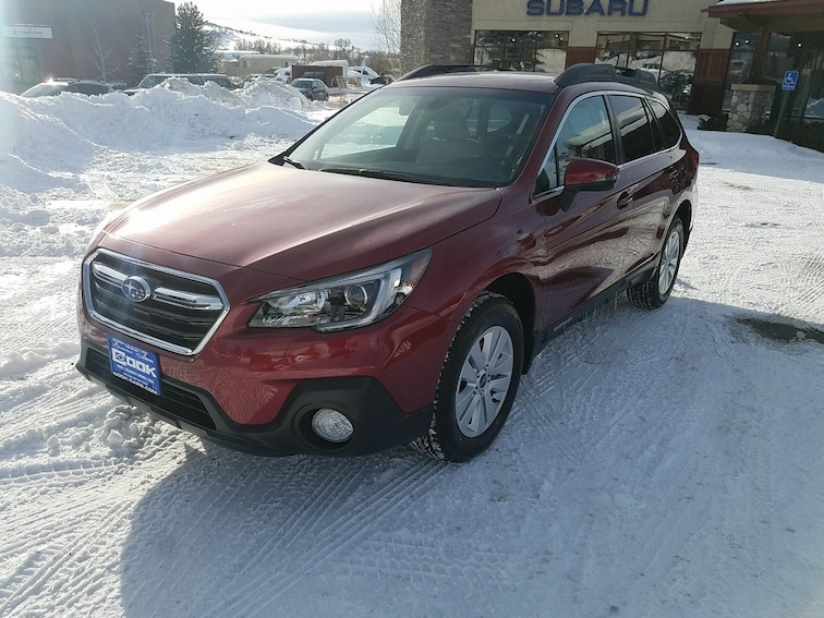 New 2019 Subaru Outback 2.5i Premium SUV Steamboat Springs, CO