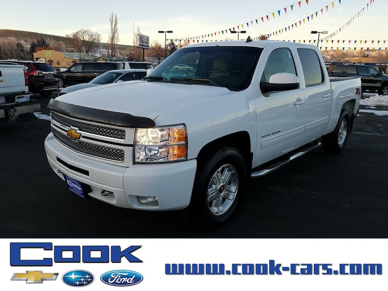 Used 2013 Chevrolet Silverado 1500 LT 4WD Crew Cab 143.5 LT Steamboat Springs, CO