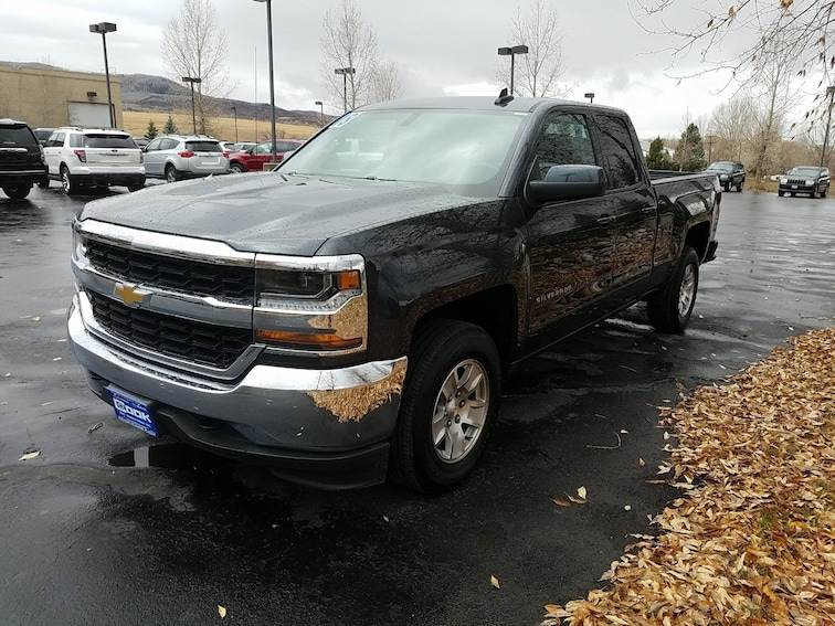 Used 2018 Chevrolet Silverado 1500 LT 4WD Double Cab 143.5 LT w/1LT Steamboat Springs, CO