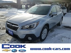 New 2019 Subaru Outback 2.5i Premium SUV 4S4BSAFC8K3261707 in Steamboat Springs, CO