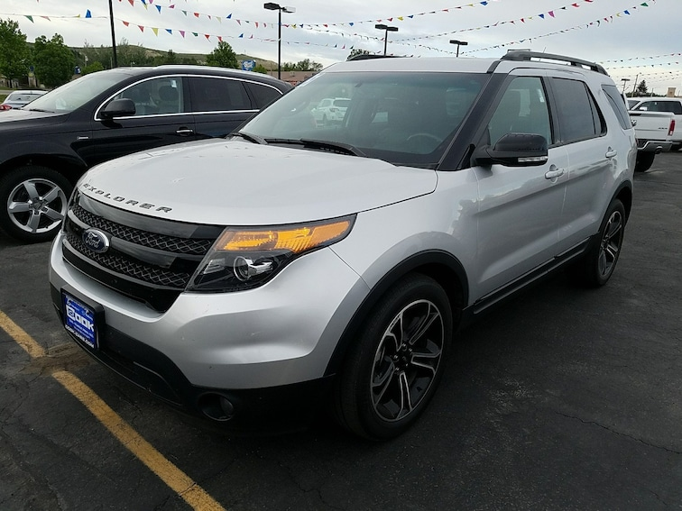 Used 2015 Ford Explorer Sport 4WD  Sport Steamboat Springs, CO