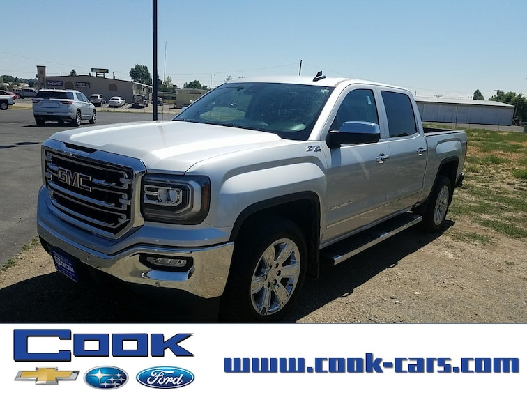 Used 2017 GMC Sierra 1500 SLT 4WD Crew Cab 143.5 SLT Steamboat Springs, CO