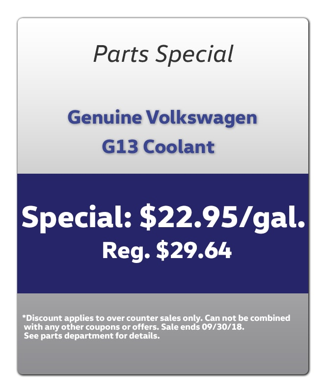volkswagen parts specials cook volkswagen