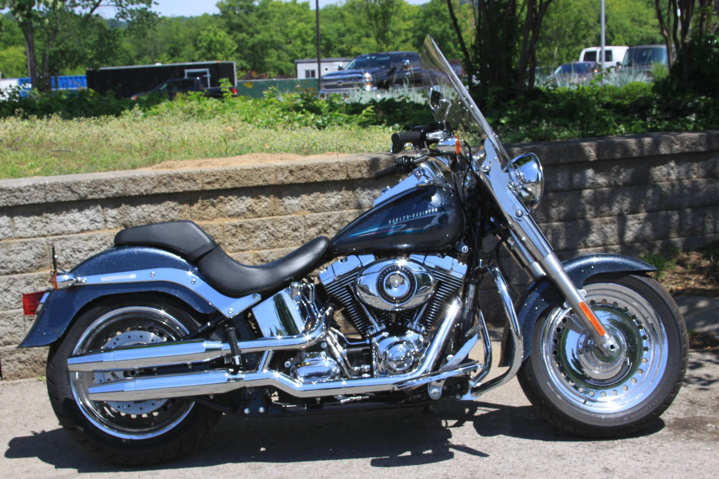 used 2015 harley davidson fat boy flstf for sale harley davidson of cool springs. Black Bedroom Furniture Sets. Home Design Ideas