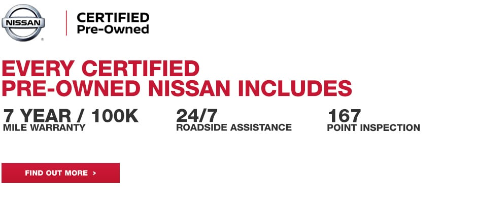 Certified Pre Owned Nissan Inventory