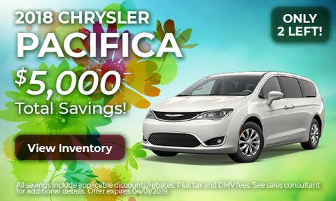 2018 Chrysler Pacifica - March