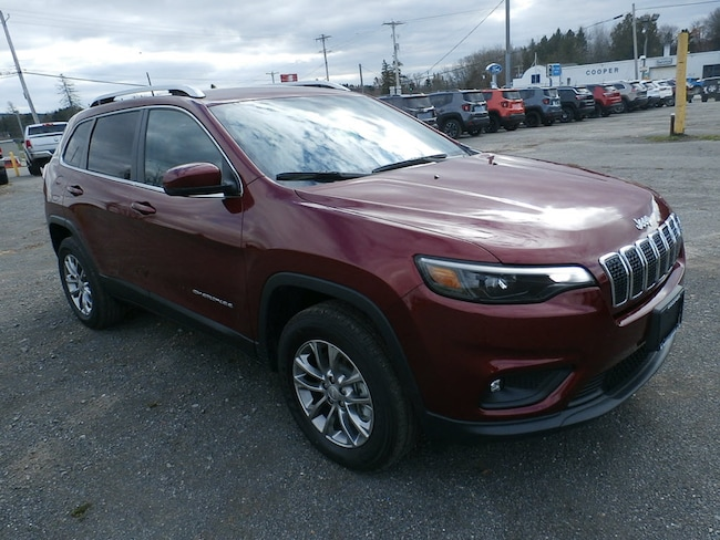 New 2019 Jeep Cherokee LATITUDE PLUS 4X4 Sport Utility for Sale in Richfield Springs NY