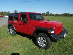 New 2020 Jeep Wrangler UNLIMITED SPORT S 4X4 Sport Utility for Sale in RIchfield Springs, NY