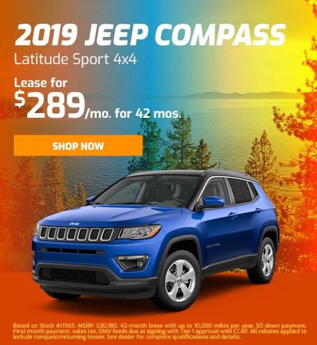 2019 Jeep Compass Latitude Sport 4x4