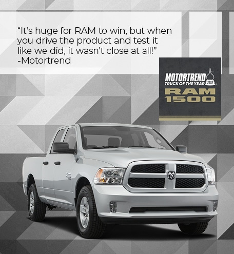 RAM 1500 Motortrend 2019 Truck of the Year
