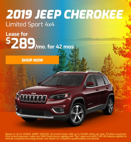 2019 Jeep Cherokee Limited Sport 4x4