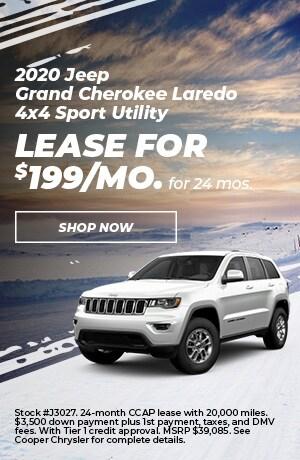 2020 Jeep Grand Cherokee Laredo 4X$ Sport Utility