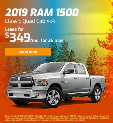 2019 RAM 1500 Classic Quad Cab 4x4