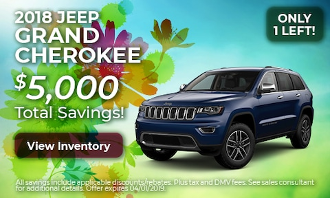 2018 Jeep Grand Cherokee - March