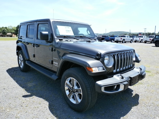 New 2018 Jeep Wrangler Unlimited Sahara 4x4 SUV for Sale in Richfield Springs NY