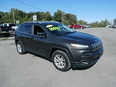 Used 2014 Jeep Cherokee Latitude 4x4 SUV for Sale in Richfield Springs