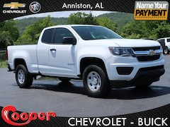 New 2019 Chevrolet Colorado WT Truck Extended Cab for sale in Anniston AL