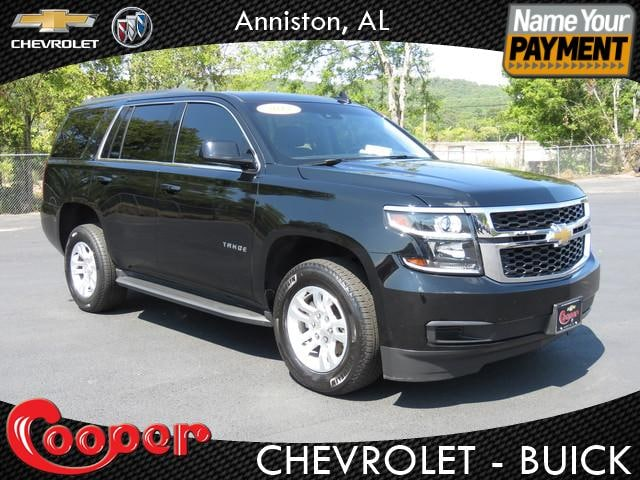 Used Chevy Tahoe >> Pre Owned Chevy Tahoe Anniston Al Cooper Chevrolet Buick Inc