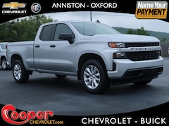 New 2020 Chevrolet Silverado 1500 Silverado Custom Truck Double Cab for sale in Anniston AL