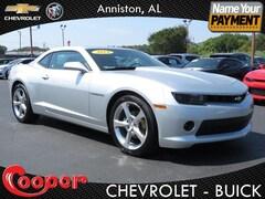 Used 2014 Chevrolet Camaro 2LT Coupe for sale in Anniston, AL