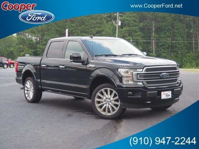 2018 Ford F-150 Limited Crew Cab Short Bed Truck