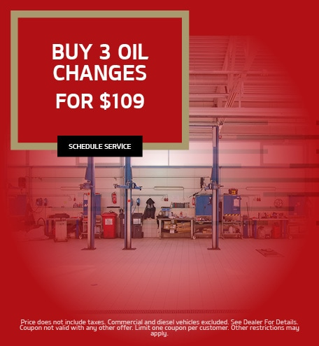 Buy 3 Oil Changes