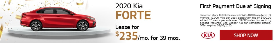 2020 Kia Forte