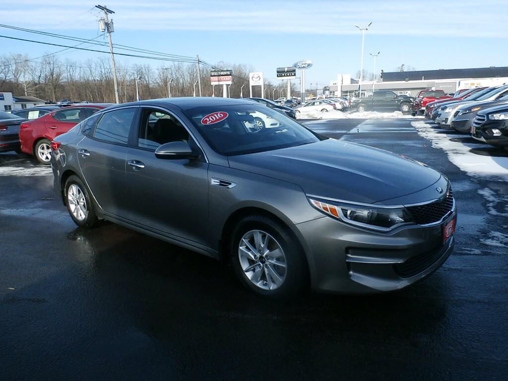 Used 2016 Kia Optima Sedan for Sale in Yorkville, NY