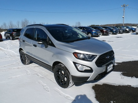 Featured New 2021 Ford EcoSport SES SUV in Richfield Springs, NY
