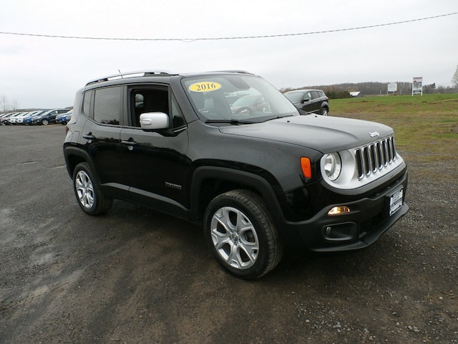 Used 2016 Jeep Renegade Limite WAGON for Sale in Richfield Springs, NY