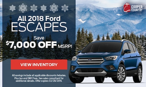 All 2018 Ford Escapes