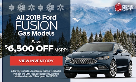 All 2018 Ford Fusion Gas Models