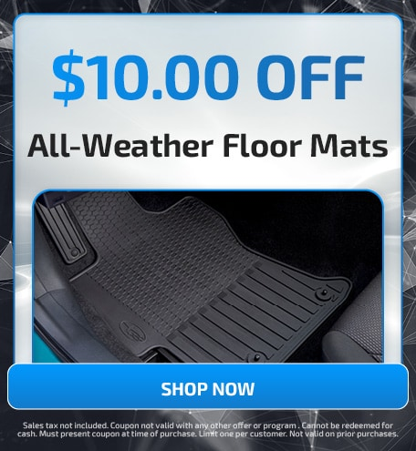 $10.00 OFF All-Weather Floor Mats