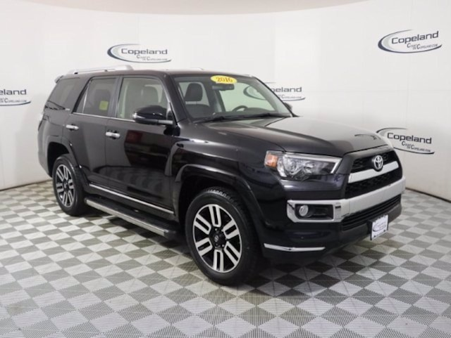 Used 2016 Toyota 4Runner Limited SUV for sale in Brockton, MA