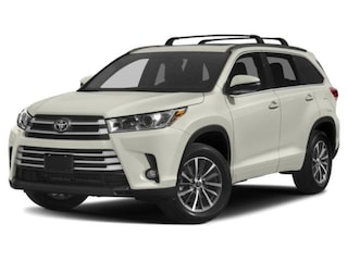 New 2019 Toyota Highlander XLE V6 SUV for sale in Brockton, MA