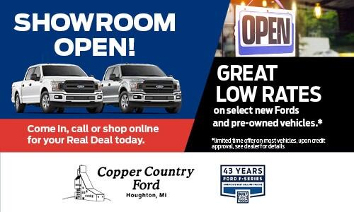 Showroom Open