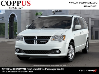 2019 Dodge Grand Caravan 35TH ANNIVERSARY SE PLUS For Sale | Tiffin OH |  VIN: