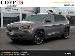 New 2020 Jeep Cherokee TRAILHAWK 4X4 Sport Utility in Tiffin, OH