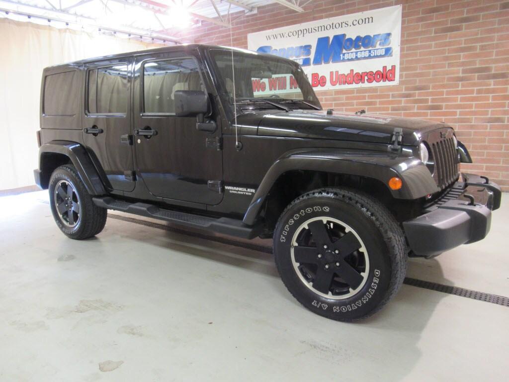 2012 Jeep Wrangler Unlimited Sahara 4x4 Sahara SUV