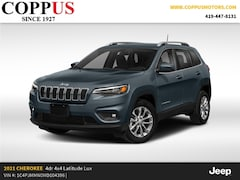 New 2021 Jeep Cherokee LATITUDE LUX 4X4 Sport Utility in Tiffin, OH