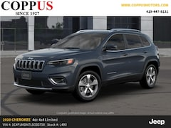 New 2020 Jeep Cherokee LIMITED 4X4 Sport Utility in Tiffin, OH
