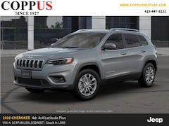 New 2020 Jeep Cherokee LATITUDE PLUS 4X4 Sport Utility in Tiffin, OH