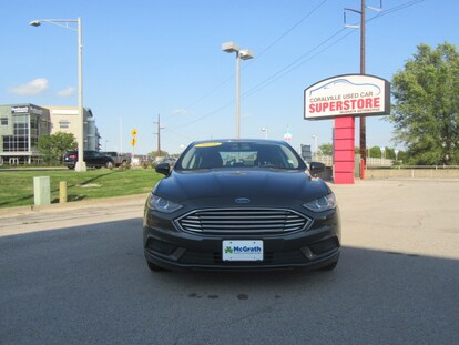 Used 2018 Ford Fusion Hybrid For Sale at Coralville Used Car