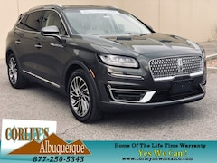New Lincoln Models for sale 2019 Lincoln Nautilus Reserve SUV 2LMPJ6L93KBL32735 in Albuquerque, NM